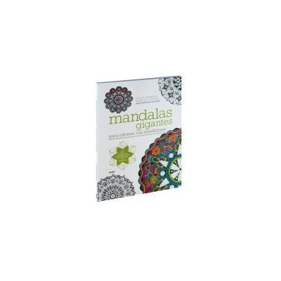 Mandalas gigantes para colorear con mindfulness | 9788498018967 ...